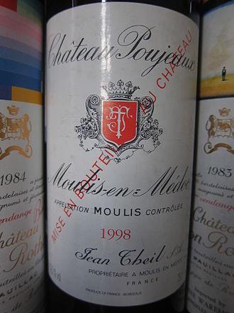 Château Poujeaux - 1998 Château Poujeaux.