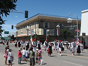 Basque Americans - Basque parade in Winnemucca, Nevada