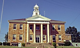 Double Springs, Alabama - Winston County courthouse in Double Springs