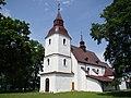 Wojkowice Kościelne, kościół par. pw. Świętych Marcina i Doroty 02.JPG