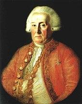 The courtier Wolfgang Heribert von Dalberg, Seyler's collaborator during the Mannheim years (Source: Wikimedia)