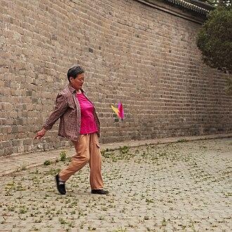 Jianzi - Jianzi as folk sport