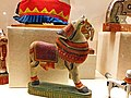 Wooden animal toys at Odisha Crafts Museum, Bhubaneswar, Odisha, India.jpg