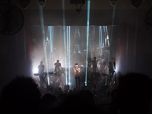 Yoann Lemoine - Woodkid performing at the Kaufleuten in Zurich, 2013