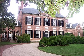 Woodlawn (plantation) historic home located in Fairfax County, Virginia