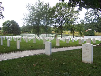 Woodlawn Cemetery (Elmira, New York) - Image: Woodlawn National Cemetery