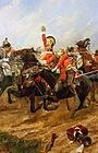 Woodville Richard Caton Life Guards Charging At The Battle Of Waterloo.jpg