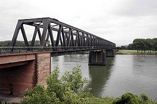 German railway bridge