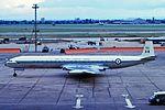 XR395 DH106 Comet C4 RAF LHR 02SEP63 (6812608815).jpg