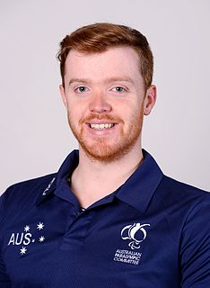 Sam Carter (athlete) Australian Paralympic athlete