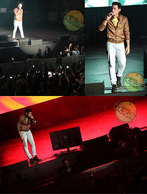 Xian Lim - Xian Lim performing in Toronto, 2014