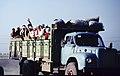 Yılankalesi 06 04 1984 Wanderarbeiter nach der Baumwollernte.jpg