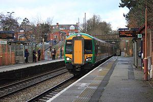Snow Hill lines - Image: Yardley Wood London Midland 172344