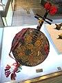 Yi musical instrument (yueqin) - Yunnan Provincial Museum- DSC02056.JPG