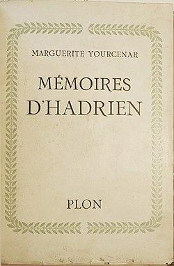Image illustrative de l'article Mémoires d'Hadrien