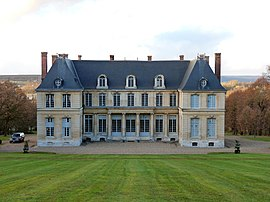 The chateau in Yville-sur-Seine