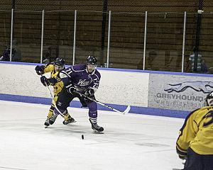 Western Ontario Mustangs men's ice hockey - Zach Harnden of the Western Mustangs