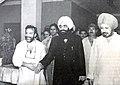 Zail Singh President of India with Bhim Singh.jpg