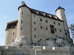 Bobolice Castle - Residential building of the castle