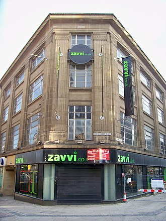 Zavvi (retailer) - A branch in Bradford after closure
