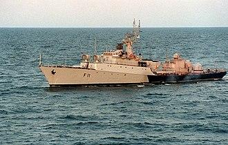 Grisha-class corvette - Image: Zemaitis 1993 1