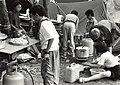 Zesde Haarlemse Jamboree, 2400 scouts. Aangekocht van United Photos de Boer bv. - Negatiefnummer 34750 k 21 a. - Gepubliceerd in het Haarlems Dagblad van 25.07.1991. Identificatienummer 54-0, NL-HlmNHA 54032143.JPG
