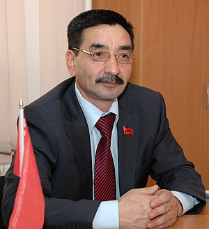 Kazakh presidential election, 2011 - Image: Zhambyl Akhmetbekov 2011