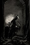 Zichy, Mihály. Illustrations to 'The Knight in the Panther's Skin'. 1888 21.jpg