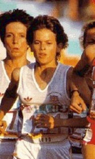Zola Budd - Budd competing in the 1984 Olympics