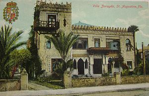 Franklin W. Smith - Villa Zorayda in the 1900s