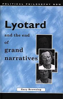 Political Philosophy Now Lyotard and the End of Grand Narratives.jpg