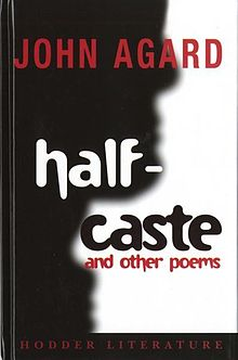 Half-Caste and Other Poems (llyfr).jpg