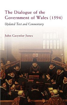 Dialogue of the Government of Wales (1594), The Updated Text and Commentary.jpg