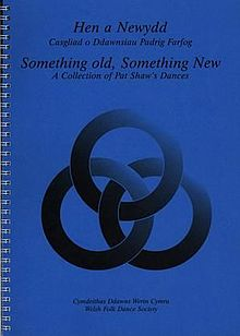 Hen a Newydd - Casgliad o Ddawnsiau Padrig Farfog - Something Old, Something New - A Collection of Pat Shaw's Dances (llyfr).jpg