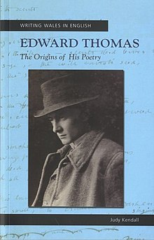Writing Wales in English Edward Thomas - The Origins of his Poetry (llyfr).jpg