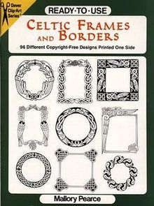 Ready To Use Celtic Frames and Borders 96 Different Copyright Free Designs Printed One Side.jpg