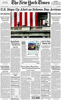 Tudalen blaen 11-09-02 The New York Times.jpg