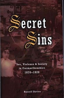 Secret Sins Sex, Violence and Society in Carmarthenshire 1870 1920.jpg