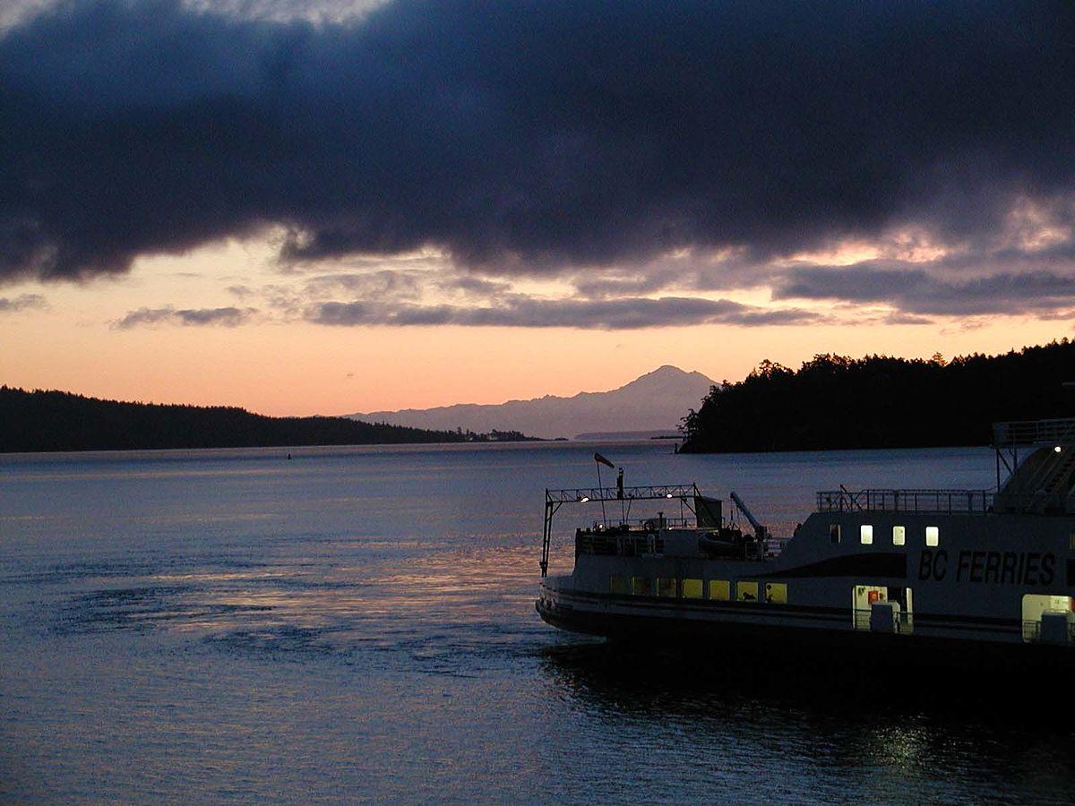 Bc Ferries Langdale To Keats Island