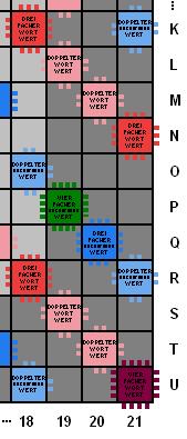 Scrabble Buchstabenwerte