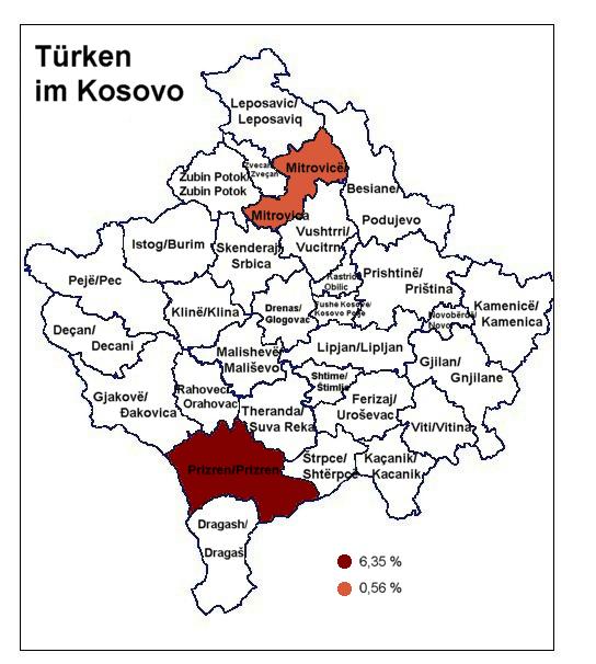 Türkei Kosovo