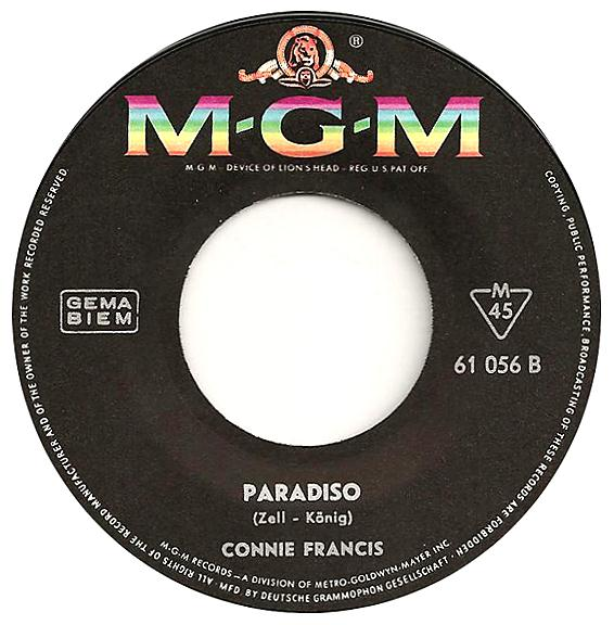 Connie Francis - Tu' Mir Nicht Weh