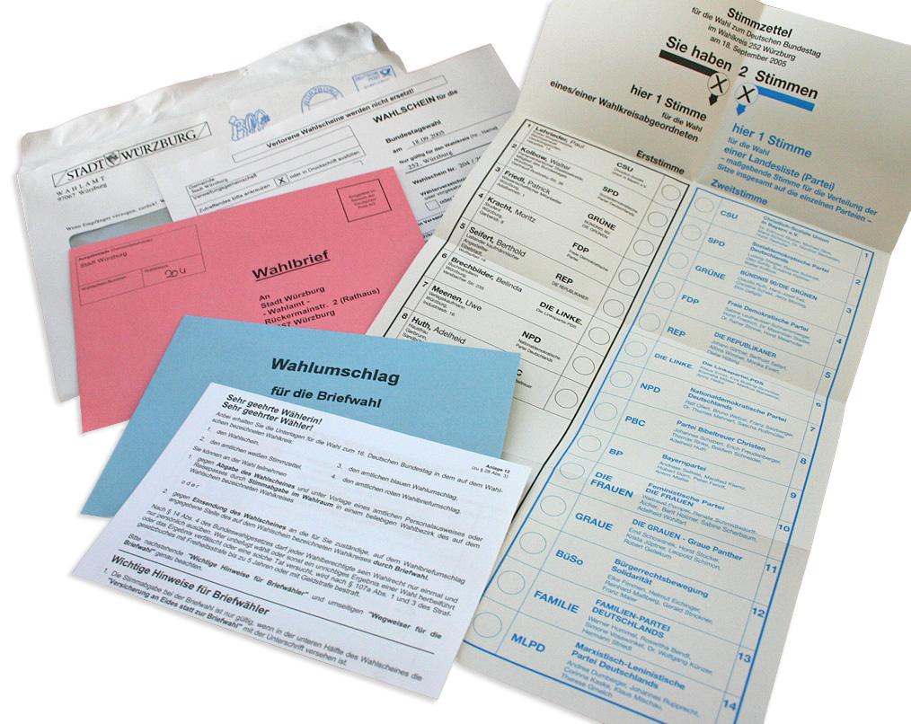 Nrw Wahl Briefwahl