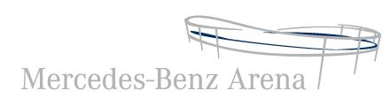 Logo der Mercedes-Benz Arena