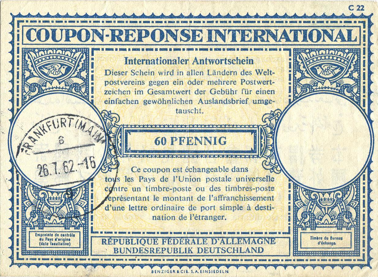 Internationaler Antwortschein Wikipedia
