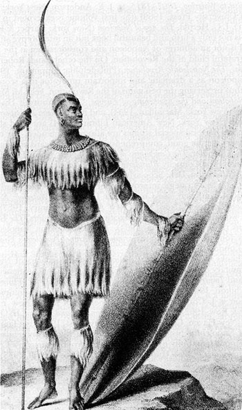 Zulu Häuptling