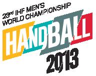 Logo der 23. Handball-Weltmeisterschaft der Herren