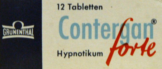 Contergan Packung 12 Tabletten