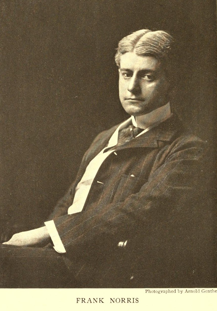 Frank Norris - author of McTeague