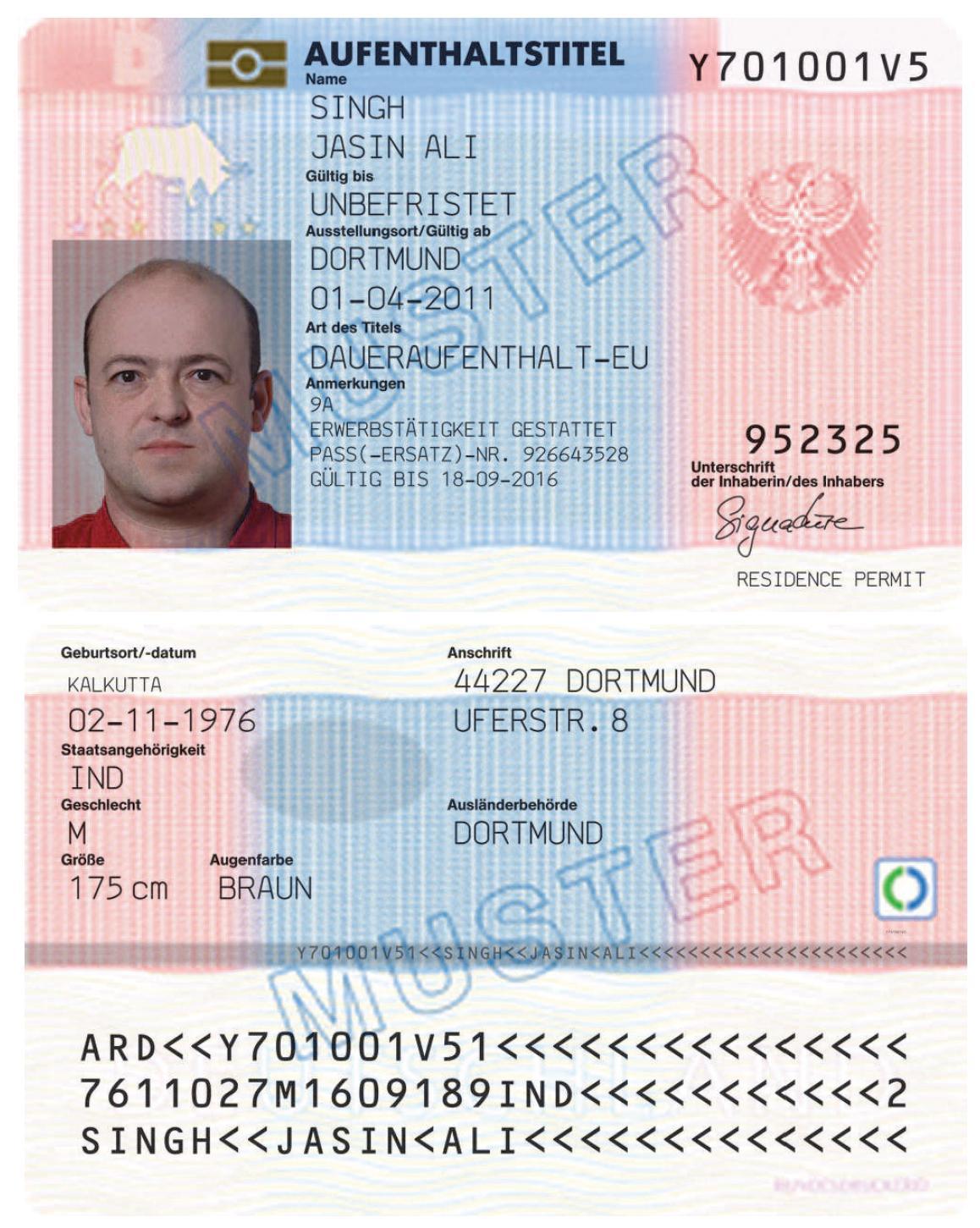 Erlaubnis zum Daueraufenthalt-EU (Deutschland) – Wikipedia